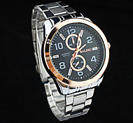 Xu™ Men's Fashion Business And Leisure Waterproof Steel Belt  Quartz Watch Wrist Watch Cool Watch Unique Watch