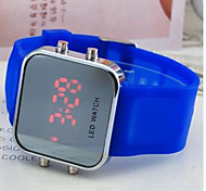 Students Watch LED Silicone Watch Cool Watches Unique Watches