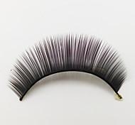 1 Ресницы Ресницы Ленточные накладные ресницы Глаза Машинное плетение Волокно Black Band 0.05mm 10mm