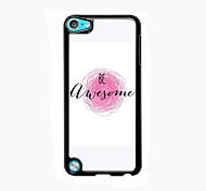 Be Awesome Design Aluminum High Quality Case for iPod Touch 5