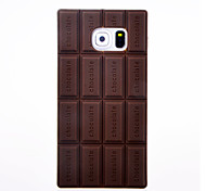3d Schokolade Silikon-Hülle für Samsung-Galaxie s6