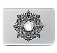 Black Flower Decorative Skin Sticker for MacBook Air/Pro/Pro with Retina Display