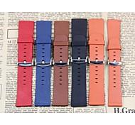hochwertige neue Ersatz-PU-Lederband für Apfel Uhr 42mm multicolor