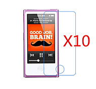 (10 Pcs) High Definition Screen Protector Flim for iPod Nano 7