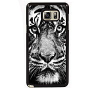 The Tiger Stare At You Design Slim Metal Back Case for Samsung Galaxy Note 3/Note 4/Note 5/Note 5 edge