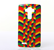 Polychrome Minigaga Pattern TPU Soft Case for Multiple LG G3/G3MINI/G4