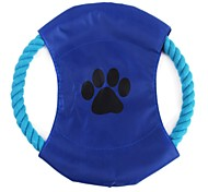 CaiSeMian Rope Pet Frisbee (Random Color)