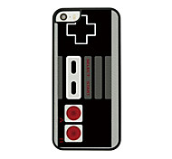 Retro Game Machine Leather Vein Pattern Hard Case for iPhone 5/5S