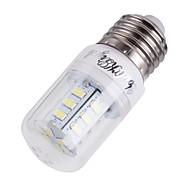 5W E14 / E26/E27 LED a pannocchia T 24 SMD 5730 400 lm Bianco caldo / Luce fredda Decorativo AC 220-240 / AC 110-130 V 1 pezzo