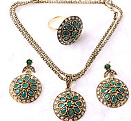 Z&X® Exalted Elegant Vintage Alloy Jewelry Set Party/Casual 1set