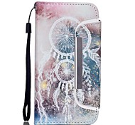 Campanula Pattern Two-in-One PU Leather for iPhone 6