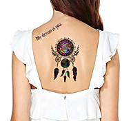 5Pcs Fashion Dream Catcher Waterproof Temporary Tattoo Stickers
