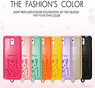 Leiers Domicat case pu leather and tpu following whole package case for Samsung Galaxy Note 3/N9000