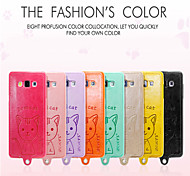 Leiers Dimicat case pu leather and tpu following whole package case for Samsung Galaxy A7/A7000