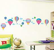 Multifunction DIY PVC Balloon Shape Decorative Stickers