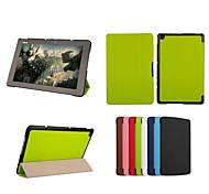 dengpin pu tablette de protection en cuir de couverture de cas avec le stand pour Asus Transformer livre t1 chi t100chi (couleurs