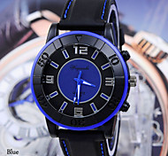 Men's Watches Fashion Sports Car Line With Silicone Watch