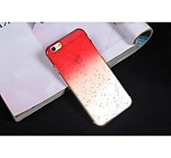3D Colorful Gradient Stereo Waterdrop Raindrop Clear Transparent Phone Case Cover Shell for iPhone 4/4s