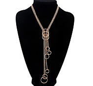 HUALUO®European and American Fashion Unique Circle Necklace