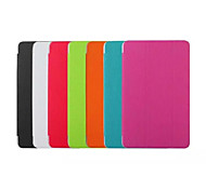 For Samsung Galaxy Case with Stand / Flip / Origami Case Full Body Case Solid Color PU Leather Samsung Tab E 9.6
