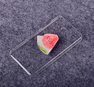 Watermelon Pattern Transparent PC Hard Case for Nokia Lumia 630/635