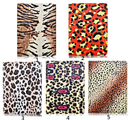 Leopard PU Leather Card Holder Leather Belt Around Open  for Galaxy Tab s2 8.0 T 715/ s2 9.7 T815(Assorted Colors)