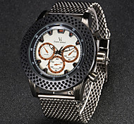 V6 Men's Fashion Steel Sport Design Quartz Fashion Watch