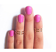Women Fashion New Polished Brass Joint Ring (One Piece)