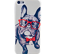 Patrón Happy Dog duro caso para iPhone 5C