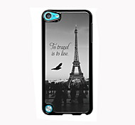Eiffel Tower Design Aluminum High Quality Case for iPod Touch 5