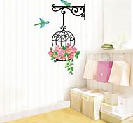 multifunções forma gaiola pvc diy adesivos decorativos