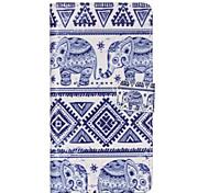 blu modello elefante pu custodia in pelle per Huawei p8 lite