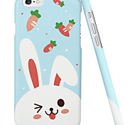 ESR® Illustrators Series Whimsical Cartoon Rabbit Carrot Hard Back Case for iPhone 6 (Carrot Bunny)