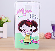 Lovely Girl Pattern TPU Soft Case for Coolpad F1 8297