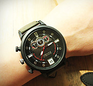 The New Foreign Trade Model South Korea Nylon Tape  Watches Men Leisure Trend  Watches