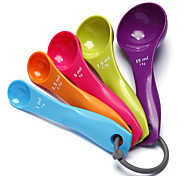 5PCS Colorful Measuring Spoon Baking Tools High Quality Cake Tools 12x6x1cm