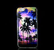 cobertura padrão da palmeira para iphone 6 mais para o iPhone 6 mais