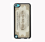 Vintage Postage Design Aluminum High Quality Case for iPod Touch 5