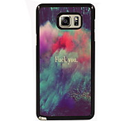 Fuck You Design Slim Metal Back Case for Samsung Galaxy Note 3/Note 4/Note 5/Note 5 edge