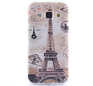 Tower Pattern TPU Phone Case for Samsung Galaxy Core Prime G360 /G357/G850/J1/530/355H