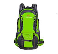 Randonnée pack/Sac de Randonnée/Autres/Voyage Duffel (Vert/Rouge/Noir/Bleu , 60 L) Etanche/Zip étanche/Résistant à la