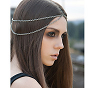 Europe and the Tidal Range of Metal Strass Sequined Hair Band Hair