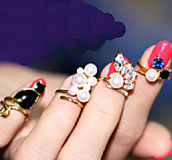New Arrival Fashional Popular Cat Rings A Set