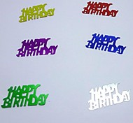 "Confetti""Happy Birthday""For Birthday  Party Decoration"