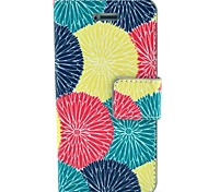 Painted PU Leather Mobile Phone Bags Cases for iPhone 4/4S