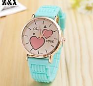 Women's Fashion  Simplicity  Quartz Analog Love Leather Wrist Watch(Assorted Colors)
