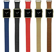 Winding Real Leather Watchband Sport Band for Iwatch Watchband With The Connector Assorted Colors