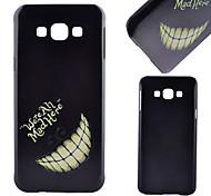 dente padrão pc caso de telefone celular material para samsung galaxy a8