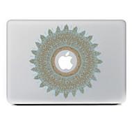 круговой цветок 20 декоративные наклейки кожи для MacBook Air / Pro / Pro с сетчатки дисплей