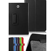 dengpin PU-Leder Litchi Textur mit Standplatzabdeckung für Samsung-Galaxie Registerkarte s2 8,0 sm-T715 T710 (verschiedene Farben)